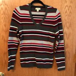 St. John's Bay striped sweater